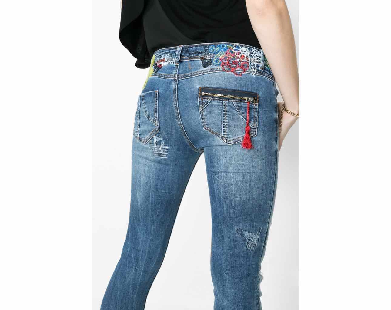 DESIGUAL Jeans DONATO 61D26D3   Rips & Frays   Canada